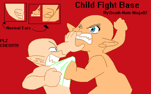 Base- Child Fight by Death-Note-Ninja02