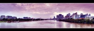 Brisbane Riverside by kate-art