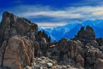 Mount Whitney as seen from Alabama Hills by RazVonZiegler