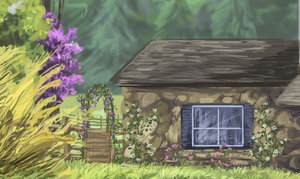 detail of house by DawnFrost