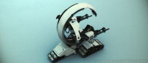 Droideka Destroyer Droid by starlander