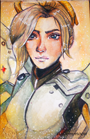 Mercy - Sketchbook by uncommoon