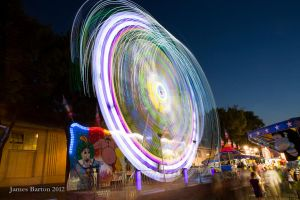MN State Fair Midway by jbcdefg