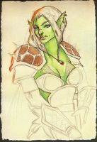 Orc Warrior by Special-Kay