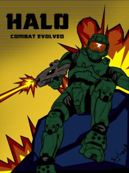 Halo-Combat Evolved by trisquitman
