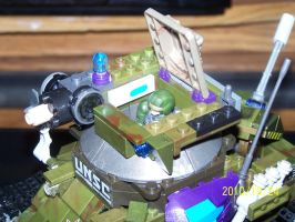UNSC Bonaparte Raccoon Tank 05 by coonk9
