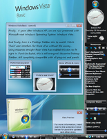 Windows Vista Basic Sidebar by samw61