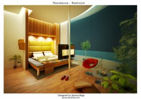 R2-Bedroom 2 by Semsa