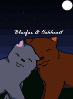 Bluefur and Oakheart by Artist-Who-Draws