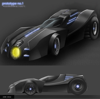 batmobile by cavalars