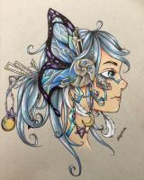 Mechanical Butterfly by dragonitas
