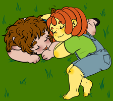 Hornypapple Nappy Time by MissPomp