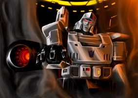 Smoother Emperor Megatron by Lateart