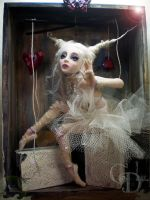 Ballerina BJD doll inspired by cdlitestudio