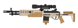 MK.14 Mod 0 Enhanced Battle Rifle resource by shadawg