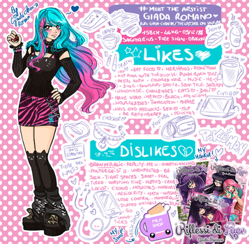 My #Meettheartist by GiAdA-ChAn