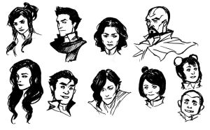 Legend of Korra roll call by bluestraggler