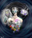 Kindred League of legends fan art! by xXKillaynXx