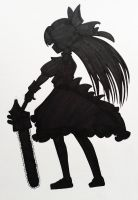 Mad Father: Aya Silhouette Art by Hoshino-Libra