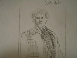The Sixth Doctor by J-Edgar-Pinkerton