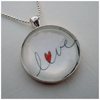 Love Pendant by cellsdividing