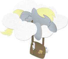 Canvas Paper Derpy Hooves - v2.0 by Saw-Buck