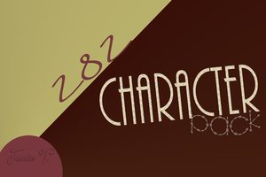 Character Pack#2! By-jasmine-t. by egymagyarjazii