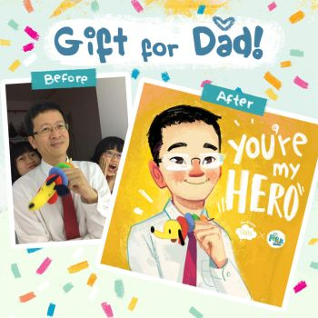 Father's Day Free Portrait Campaign by SillyJellie