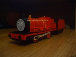 Red Engine by GBHtrain