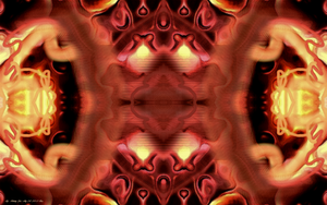 Abstract May 26, 2012  Two by Hillbillygirl