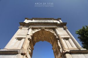 Arch of Titus II by erman-y