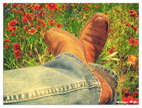 If it's not those cowboy boots by SweetSurrender13