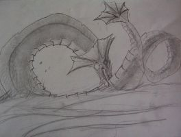 sea dragon by ghost010