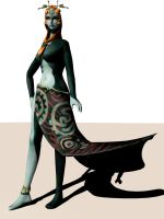 Midna Pose Test 2 by DarklordIIID