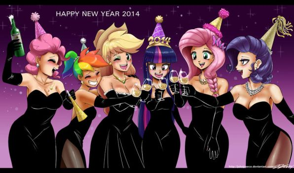 happy New Year's Day 2014 by johnjoseco