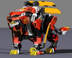 Liger Zero Neo - Paladin by 6th-Dimensional