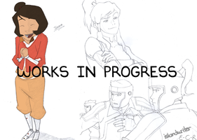 LOK Current Works in Progress - May by IslandWriter