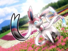 Sylveon Art by cscdgnpry