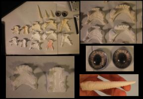 Realistic Fursuit parts for sale by BlueWolfCheetah