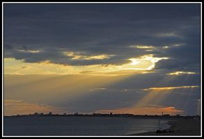 Looking Towards Portsmouth by lizzyr