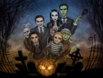 The Addams Family by daekazu