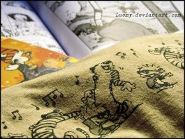 Calvin and Hobbes by Luemy