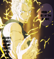 Laxus Rage by Shadow-974
