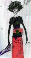 Kanaya more like ew that chainsaw is awful by xTimelessxRiver-x3o