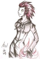 Playful Fighting - Axel by Nashimus