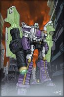 Beamer's Classics Megatron by MachSabre