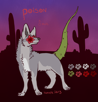 Poison Reference Sheet by Kama-ItaeteXIII