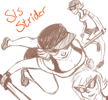 Sis Strider by badonkahonk