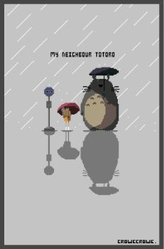 My Neighbour Totoro by crowecrowe