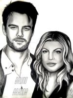 Josh duhamel and fergie by brunoarandap
